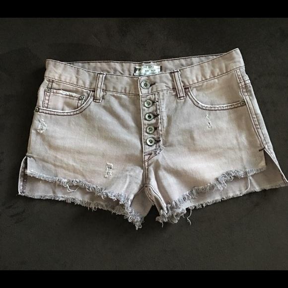 Free People Pants - Free People Jean shorts size 25